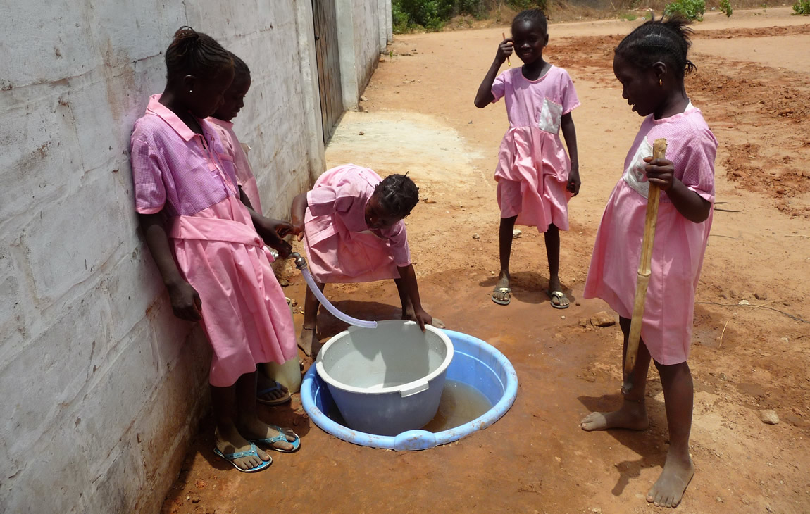 Duurzame (drink-) watervoorziening Gambia