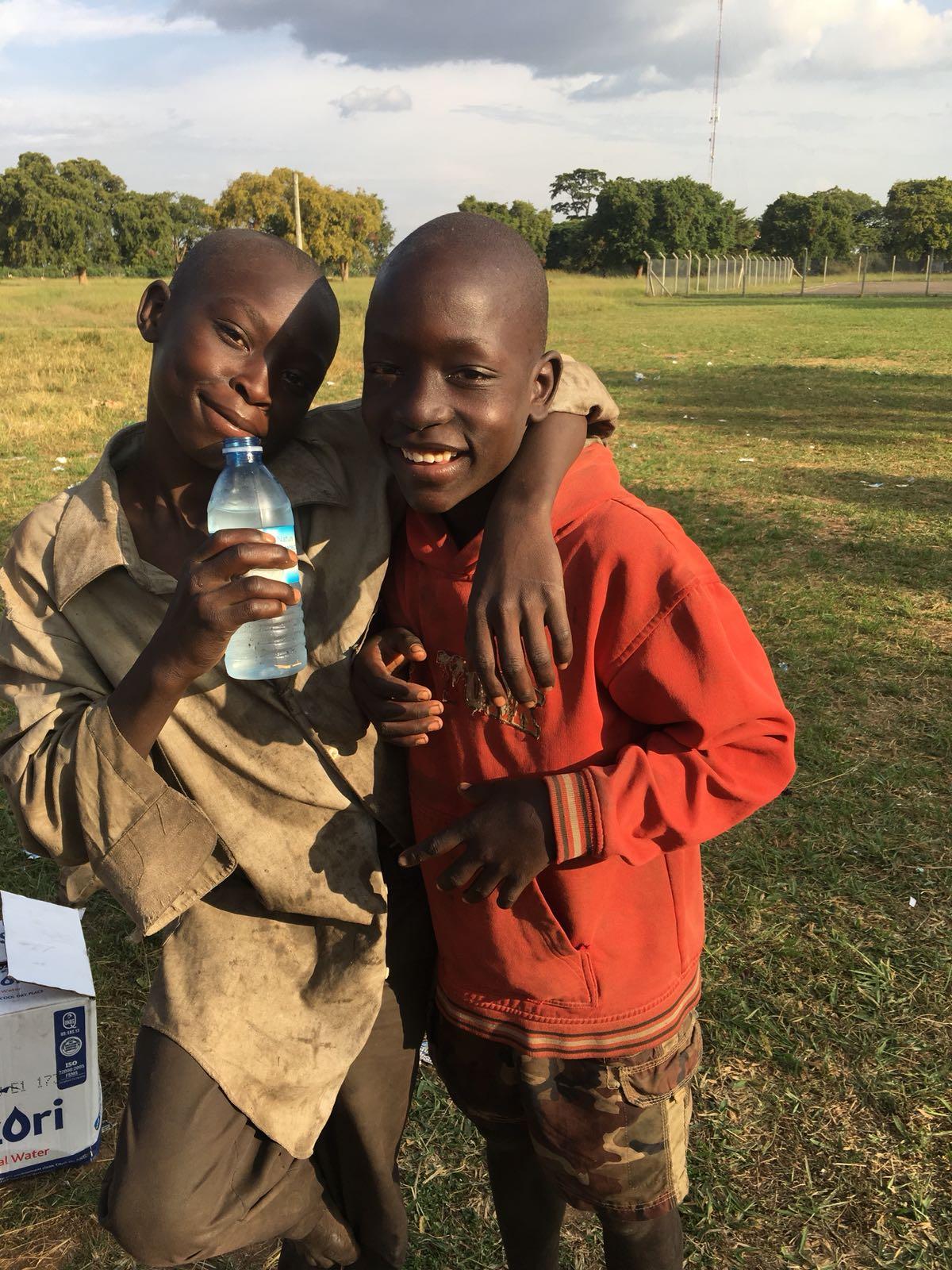 Straatkinderen Oeganda